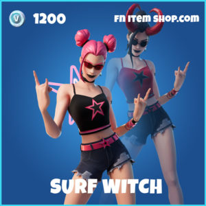 Surf witch rare fortnite skin