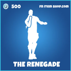 The Renegade rare fortnite emote