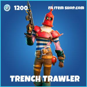 Trench Trawler rare fortnite skin