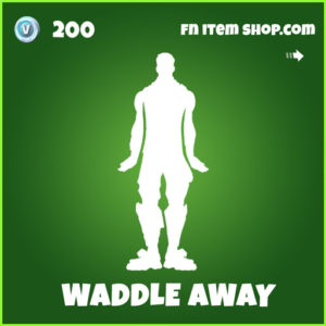 Waddle Away uncommon fortnite emote