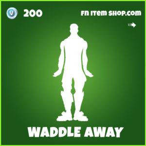 Waddle Away uncommon fortnite emote