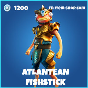 Atlantean Fishstick rare fortnite skin