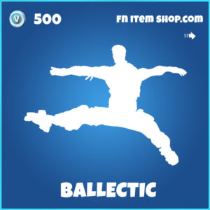 Balletic rare fortnite emote