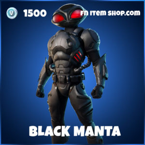 Black Manta skin DC Series fortnite item