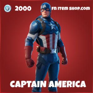 Captain America fortnite skin marvel