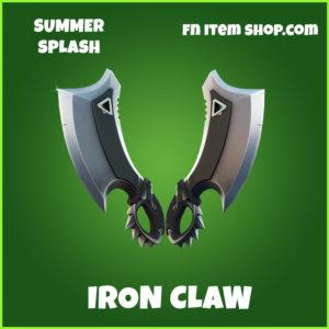 Iron Claws fortnite uncommon pickaxe