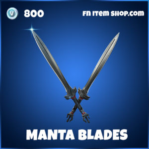Manta Blades pickaxe Black Manta DC Series fortnite item