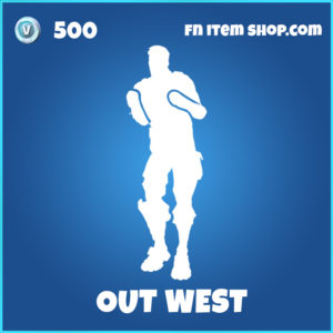 Out West rare fortnite emote