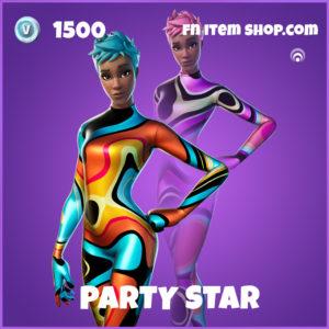 Party Star epic fortnite skin