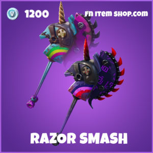 Razor Smash epic fortnite pickaxe