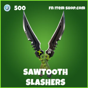 Sawtooth Slashers uncommon fortnite pickaxe