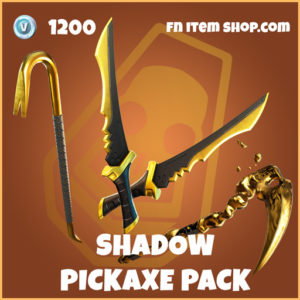 Shadow Pickaxe Pack fortnite pickaxe bundle