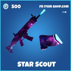 Star Scout rare fortnite wrap