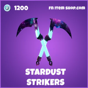 Stardust Strikers epic fortnite pickaxe