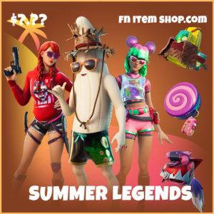 Summer Legends fortnite legendary bundle