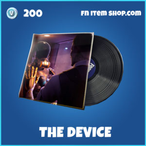 The Device rare fortnite music pack