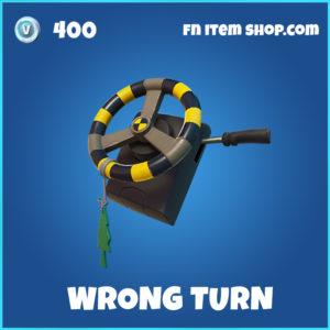 Wrong Turn rare fortnite backpack