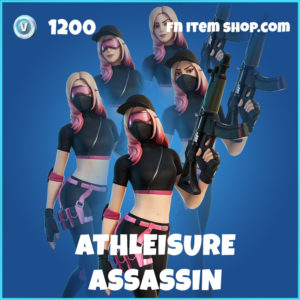 Athleisure Assassin rare fortnite skin
