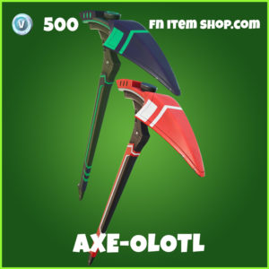 Axe-Olotl uncommon fortnite pickaxe