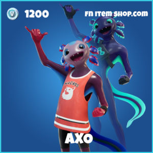 Axo rare fortnite skin