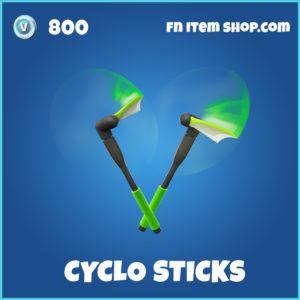 Cyclo sticks rare fortnite pickaxe