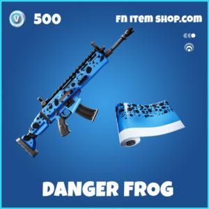 Danger Frog rare fortnite wrap