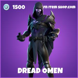 Dread Omen epic fortnite skin