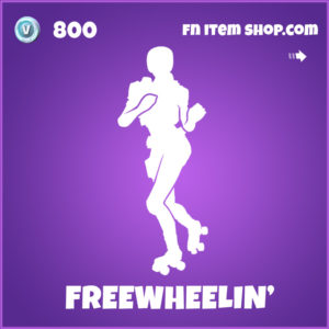 Freewheelin' epic fortnite emote