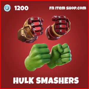 Hulk Smashers epic fortnite pickaxe