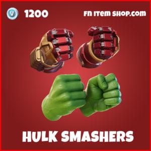 Hulk Smashers epic fortnite pickaxe