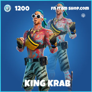 King Krab rare fortnite skin