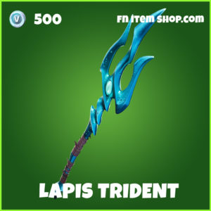 Lapis Trident uncommon fortnite pickaxe