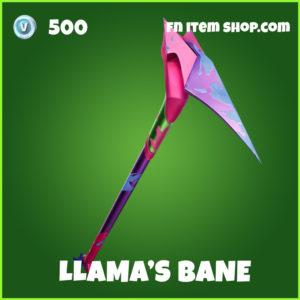 Llama's Bane uncommon fortnite pickaxe