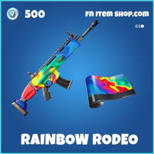 Rainbow rodeo rare fortnite wrap