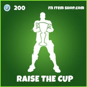 Raise the cup uncommon fortnite emote