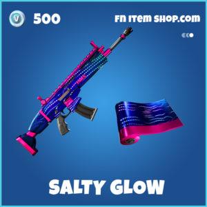 Salty Glow rare fortnite wrap