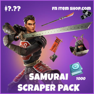 Samurai Scraper Pack fortnite items
