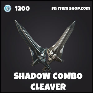 Shadow Combo Cleaver epic fortnite pickaxe