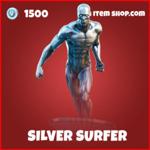 Silver surfer marvel fortnite skin