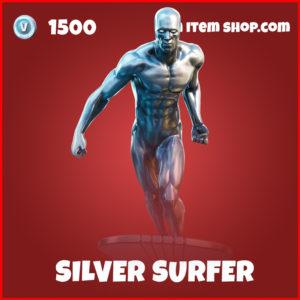Silver surfer marvel fortnite skin