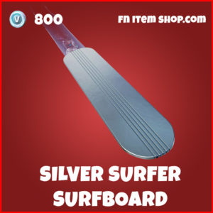 Silver Surfer Surfboard fortnite glider
