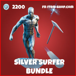 Silver surfer bundle marvel fortnite pack