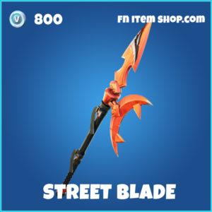 Street blade rare fortnite pickaxe