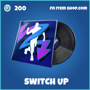 Switch up rare music pack fortnite