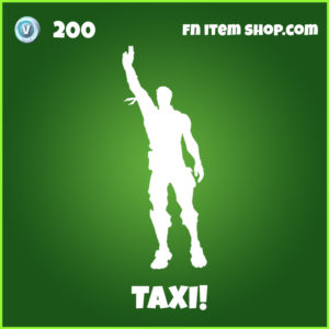 Taxi uncommon fortnite emote