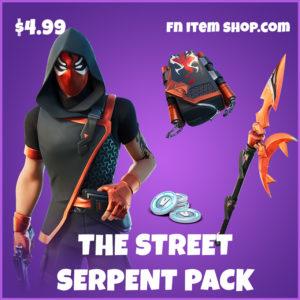 The Street Serpent pack fortnite starter bundle items