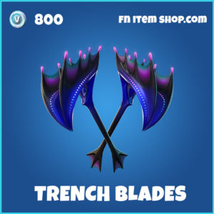 Trench Blades rare fortnite pickaxe
