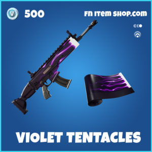 Violet Tentacles rare fortnite wrap