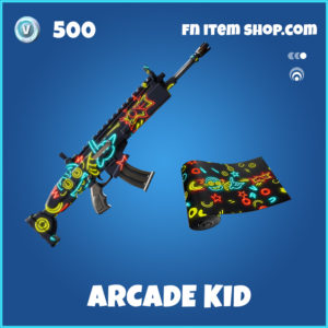Arcade Kid rare fortnite wrap