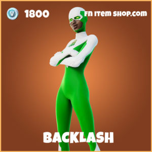 Backlash legendary fortnite skin